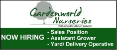 Garden World Various positions