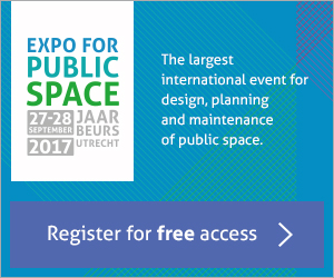 The Expo for Public Space is the largest exhibition in Europe which focuses exclusively on all the aspects of public space.