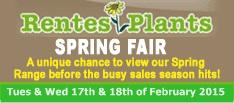 Rentes Plants Spring Fair 2014