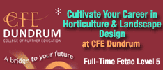 CFE Dundrum - Certificate in Horticulture (Garden and Landscape Design) QQI (FETAC) Level 5: Horticulture Code