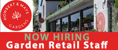 Howbert & Mays Gardens are Seeking Enthusiastic and Knowledgeable Staff to Join their team