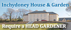 Inchydoney House and Garden, Clonakilty Bay in West Cork Require a Craft Gardener