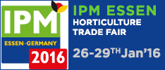 IPM ESSEN, HORTICULTURE EVENT IN GERMANY January 2016