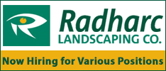 Radharc Landscaping now Hiring for Various Positions