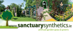 Sanctuary Synthetics - Get the lush, green look of grass...without the mess or the work !