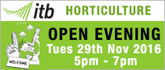 ITB Horticulture Open Evening 29th November 2016