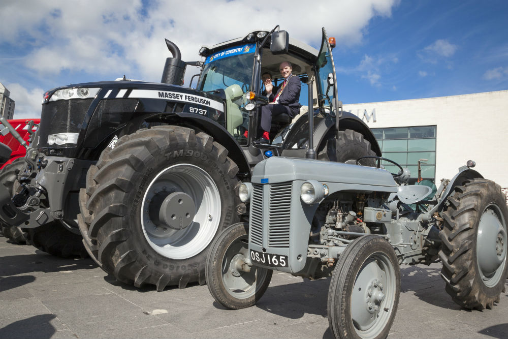 70 Years of Tractors Coventry Motor Museum UK July2016 1711 124586